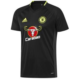 2016-2017 Chelsea Adidas Training Jersey (Black)