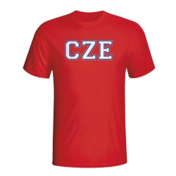 Czech Republic Country Iso T-shirt (red)