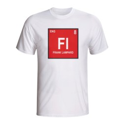 Frank Lampard England Periodic Table T-shirt (white)