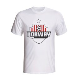 Norway Country Logo T-shirt (white)