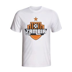Zambia Country Logo T-shirt (white)