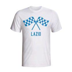Lazio Waving Flags T-shirt (white)