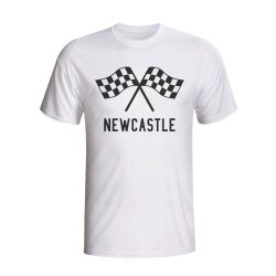 Newcastle Waving Flags T-shirt (white)