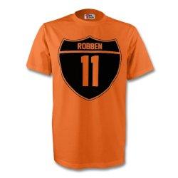 Arjen Robben Holland Crest Tee (orange) - Kids
