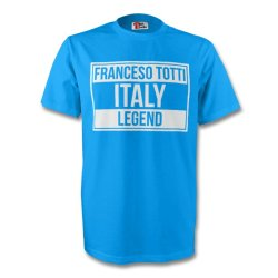 Francesco Totti Italy Legend Tee (sky Blue) - Kids