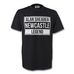 Alan Shearer Newcastle Legend Tee (black)