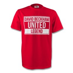 David Beckham Man Utd Legend Tee (red)