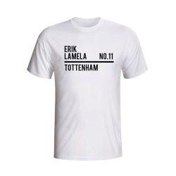 Erik Lamela Tottenham Squad T-shirt (white)