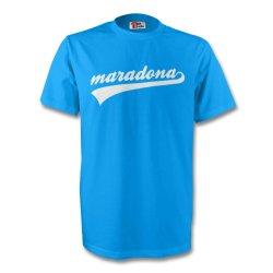 Diego Maradona Argentina Signature Tee (sky Blue)