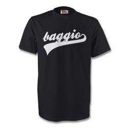 Roberto Baggio Juventus Signature Tee (black)