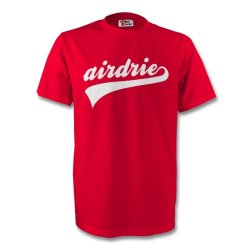 Airdrie Signature Tee (red)
