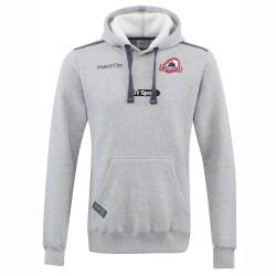 2016-2017 Edinburgh Rugby Heavy Cotton Hooded Sweatshirt (Grey)