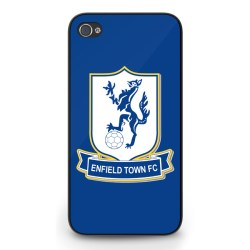 Enfield Town Badge iPhone 4 Cover (Blue)