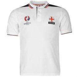 England UEFA Euro 2016 Polo Shirt (White)