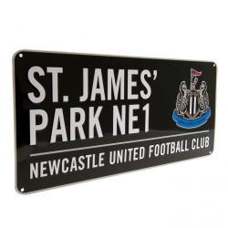 Newcastle United F.C. Street Sign BK