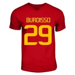 Nicolas Burdisso Roma Hero T-shirt (red)