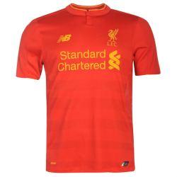 2016-2017 Liverpool Home Football Shirt