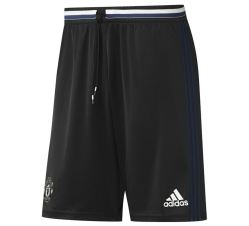 2016-2017 Man Utd Adidas Training Shorts (Black) - Kids