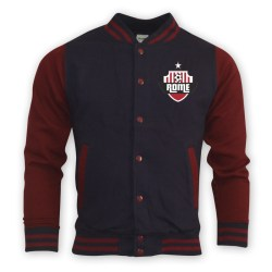 Roma College Baseball Jacket (navy)
