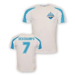 Didier Deschamps Marseille Sports Training Jersey (white)