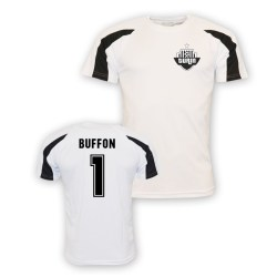 Gigi Buffon Juventus Sports Training Jersey (white)