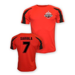 Javier Saviola River Plate Sports Training Jersey (red) - Kids