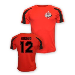 Olivier Giroud Arsenal Sports Training Jersey (red) - Kids