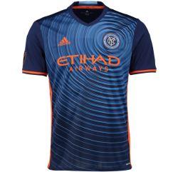 2017 New York City Adidas Away Football Shirt