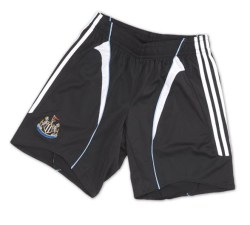 07-08 Newcastle home shorts - Kids