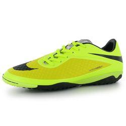 Nike Hypervenom Phelon Mens Astro Turf Trainers (Yellow-Black)