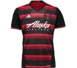 2017 Portland Timbers Adidas Away Football Shirt