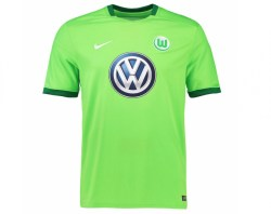 2016-2017 VFL Wolfsburg Home Nike Football Shirt