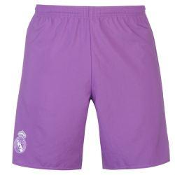 2016-2017 Real Madrid Adidas Away Shorts (Purple)