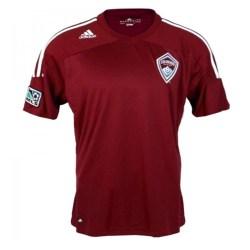 2012-13 Colorado Rapids Adidas Home Football Shirt