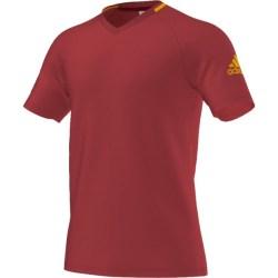 2016-2017 Spain Adidas Anthem Tee (Red)