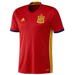 2016-2017 Spain Home Adidas Football Shirt