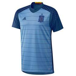 2016-2017 Spain Home Adidas Goalkeeper Shirt (Blue)