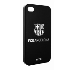 Barcelona Back Case Black Silver Shield
