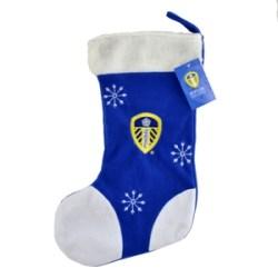 Leeds United Xmas Applique Stockings