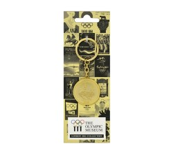 Olympic London 1948 Gold Disc Keyring