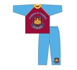West Ham Boys Toddler Long Leg Pyjama (3/4)