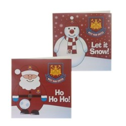 Westham Xmas Cards (character )