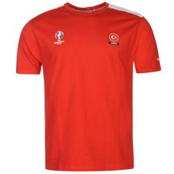 Turkey UEFA Euro 2016 Core T-Shirt (Red)