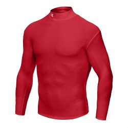 Under Armour Cold Gear Compression Mock (Red)