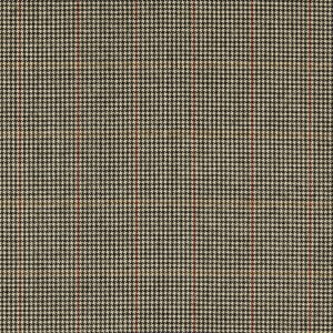 WJ-6064-D01 Brown Houndstooth Windowpane Worsted Sport Jacket