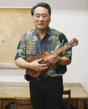 Curtis Jung and his KoAloha