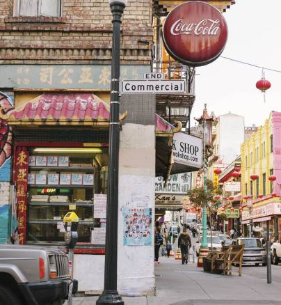 In the heart of San Francisco's Chinatown: home of the Ukulele Club of Chinatown