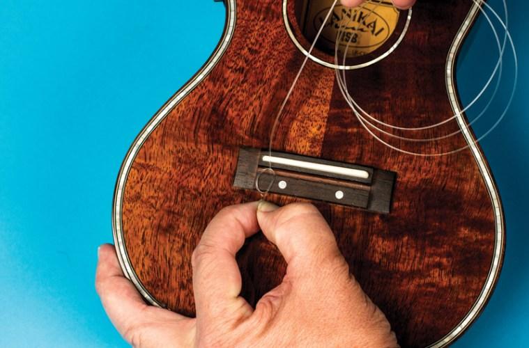 How to change ukulele strings