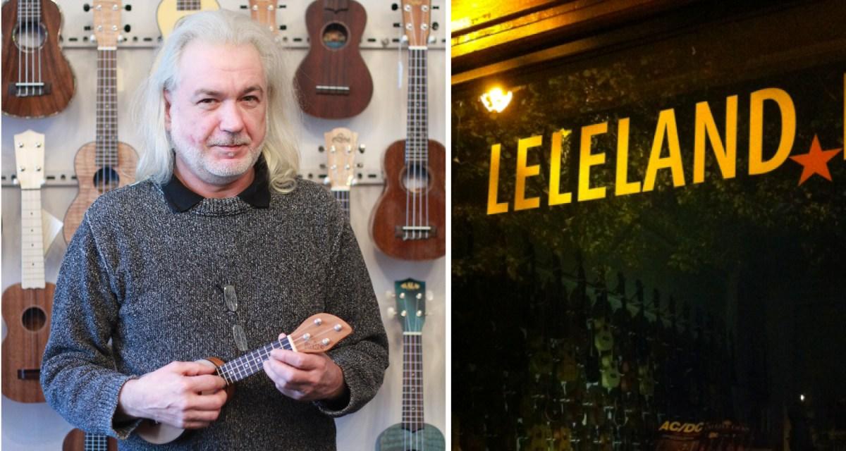 Harald Truetsch Leleland Ukulele Magazine Berlin Shop