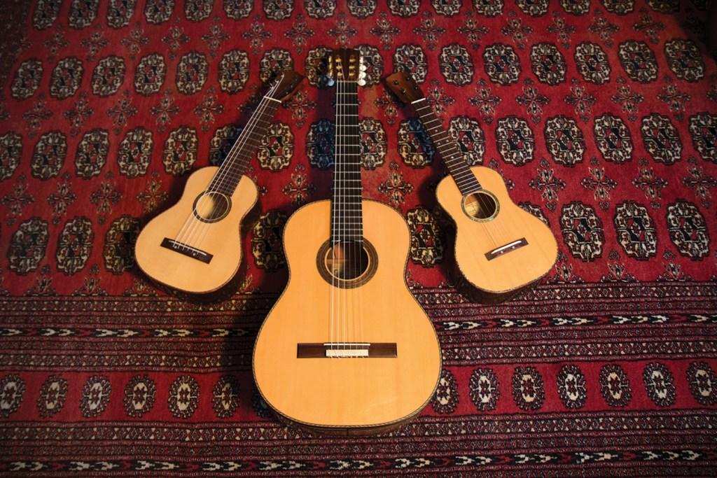 Daniel Ho and Pepe Romero Pepe Jr.'s Ukuleles and classical guitar